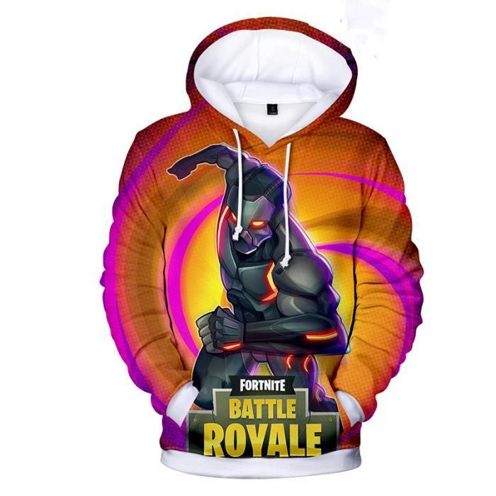Fortnite sweatshirt Autour du jeu Pull à capuche Sweat à capuche ample  Adulte 6e666cec2023
