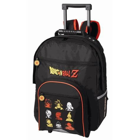 cartable a roulettes trolley dragon ball z saiyan - Cartable Dragon Ball Z