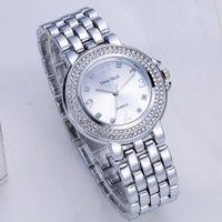 MONTRE Bracelet Métal Quartz Bracelet en or cristal de di