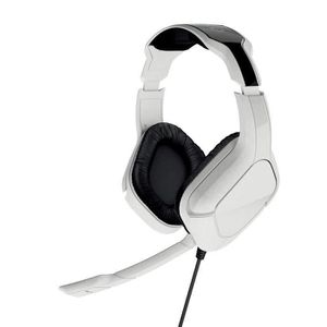 CASQUE AVEC MICROPHONE Casque Gaming Stereo Gioteck SX6 blanc pour PS4 et