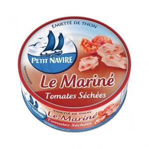 AUTRE CONSERVE POISSON Petit Navire Thon Le Mariné Tomates Séchées 110g (