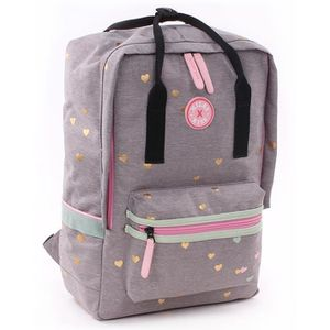 CARTABLE Sac à dos MILKY KISS Clouds of Love Gris 1 compart