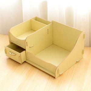 petite boite de rangement en bois avec petits tiroirs achat vente pas cher. Black Bedroom Furniture Sets. Home Design Ideas