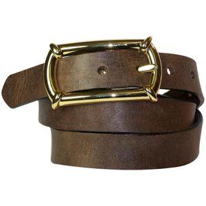 CEINTURE ET BOUCLE FRONHOFER Fine ceinture de 2,5 cm   Boucle dorée ... 4a3f825b86f