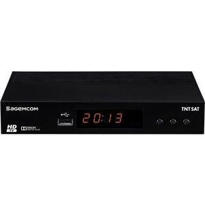 RÉCEPTEUR - DÉCODEUR   SAGEM DS81 Adaptateur TNT Satellelite HD - Noir
