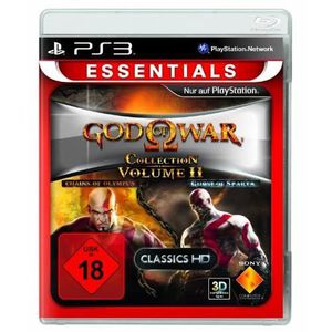 JEU PS3 GOD OF WAR COLLECTION VOL. 2 (CHAINS OF OLYMPUS…
