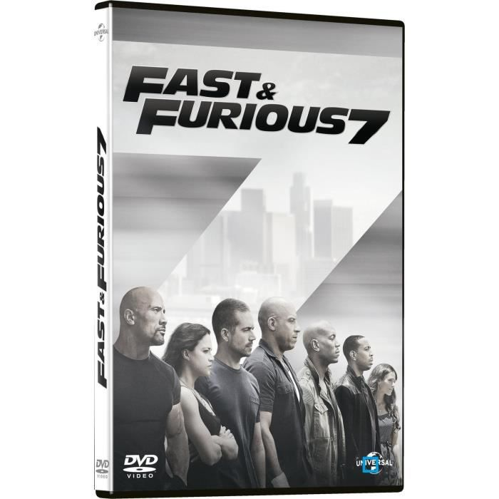 Dvd Start Fast And Furious 7