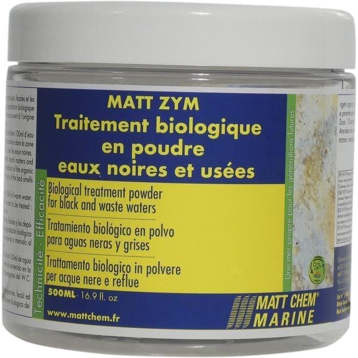 MATT CHEM MARINE Traitement biologique en poudre Matt Zym - Pour eaux noires et usées