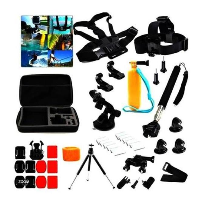 20 en 1 kit d\u0027accessoires pour GoPro Hero 1233+4