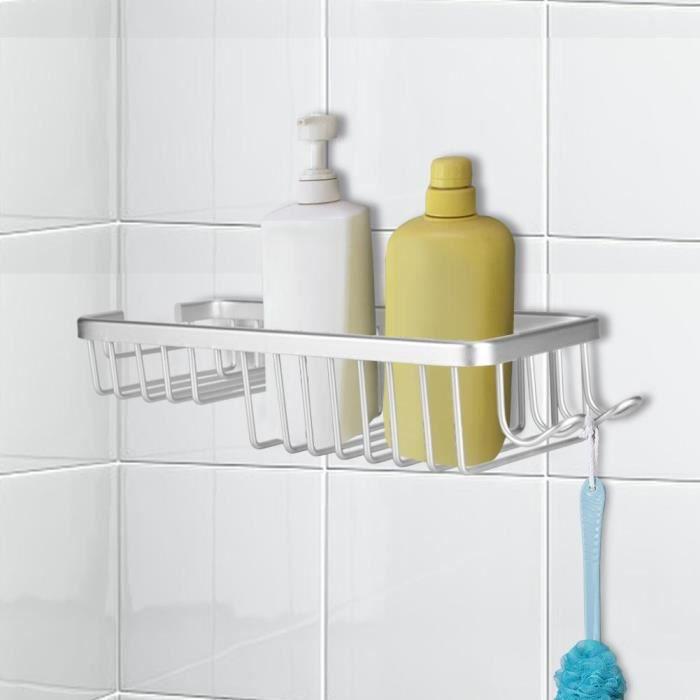 Fixé au mur étagère de rangement cuisine de salle de bains en alliage  d\'aluminium