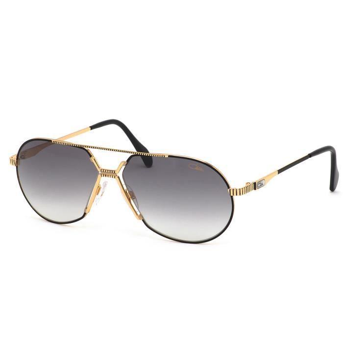 CAZAL 968 001 noir et or - Achat   Vente lunettes de soleil Homme ... 8c5c7fae709b