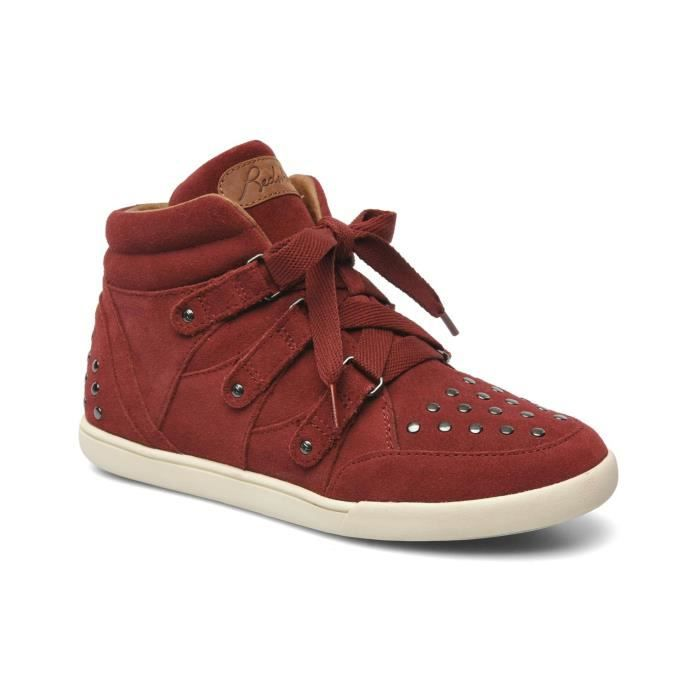 11f877b76e5 Basket Redskins Gliss Rouge Rouge - Achat   Vente basket - Cdiscount