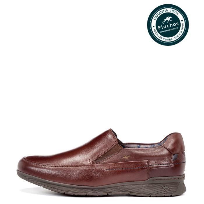 Fluchos - escarpins en cuir Taurus cognac yorwiQ