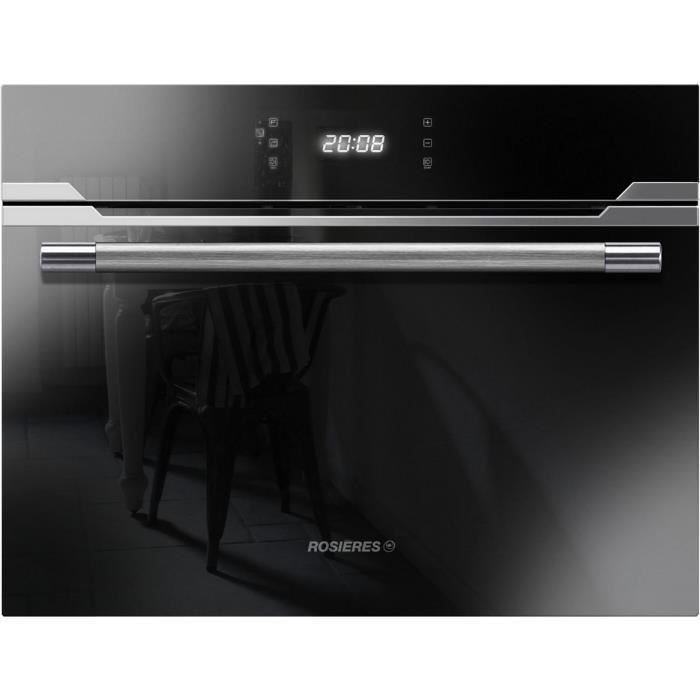 Rosieres - micro-ondes gril combiné encastrable 44l 900w inox ...