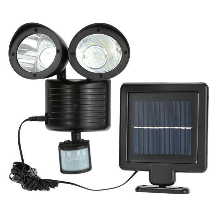 22 Projecteurs Lampe 2 Lot Solaire Orientable À Led Spots De tQroCdBshx