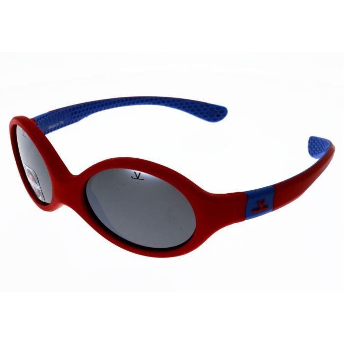 09c44fc0ec7182 VUARNET Lunettes de Soleil Bébé VL1071 Rouge  Bleu Mixte 12 à 36 Mois  Indice 4