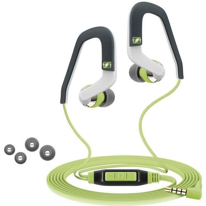 Sennheiser Ocx 686i Sports Ecouteurs Intra-auriculaires - Kit Mains Libres Ios