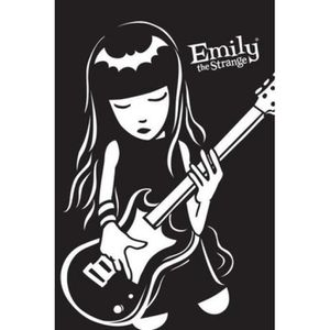 AFFICHE - POSTER Emily The Strange Poster - Guitare (91 x 61 cm)