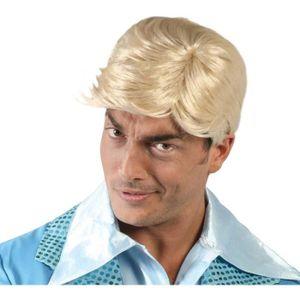 Perruque homme blond - Achat / Vente jeux