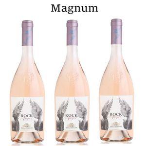 VIN ROSÉ Lot de 3 Magnum Rock Angel Chateau D'esclans Côtes