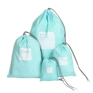 SAC À CHAUSSURES 4pcs sac de rangement en nylon étanche à la maison