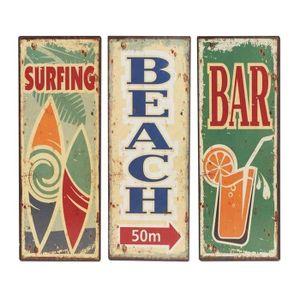 Deco surf achat vente deco surf pas cher cdiscount - Plaque murale decorative metal ...