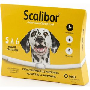 ANTIPARASITAIRE Scalibor 65 cm pour grand chien
