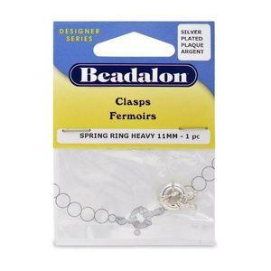 APPRÊTS  Beadalon 11 mm, fermoir anneau à ressort robuste p