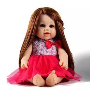 POUPÉE BRO®  Simulation bébé poupon avec les cheveux long