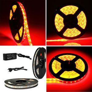 BANDE - RUBAN LED 5M Ruban Lumineux 300 LED RGB 5050 SMD Lampe de dé