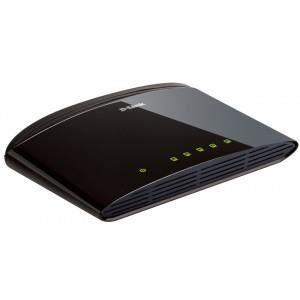 SWITCH - HUB ETHERNET  D-link Switch Ethernet 5 ports 10/100 Mb DES-1005D