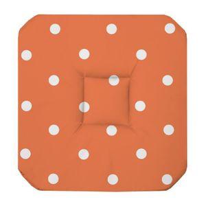 Coussin de chaise avec 4 rabats achat vente coussin de for Galette de chaise 4 rabats