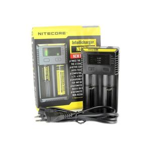 CHARGEUR - ALIMENTATION Chargeur Nitecore I2 - V3 Chargeur d'accus