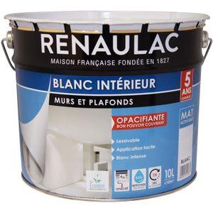PEINTURE - VERNIS RENAULAC Peinture murs et plafonds acrylique - 10