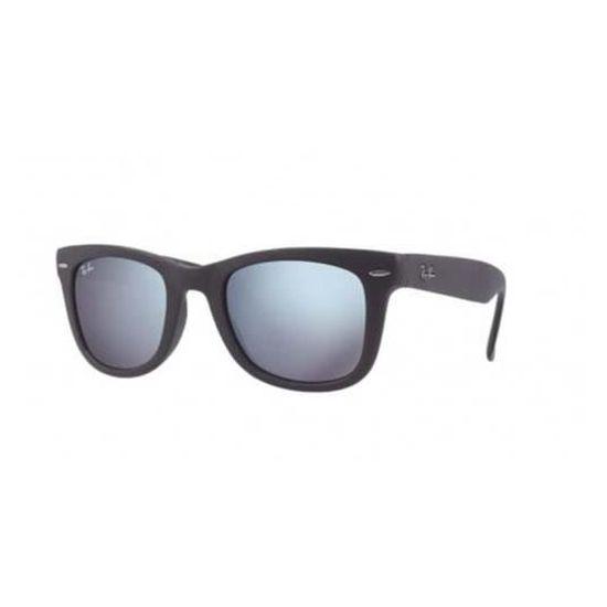 Lunette de soleil Ray-Ban Wayfarer Flolding Classique RB4105 602230 50-22 -  Achat   Vente lunettes de soleil Homme Adulte Gris Noir - Cdiscount 278fff476555