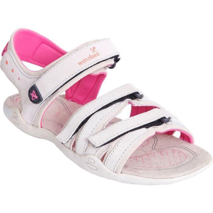 Chaussure marche / rando femme crocus ld 200 - BeigeCHAUSSURES DE RUNNING - CHAUSSURES D'ATHLETISME