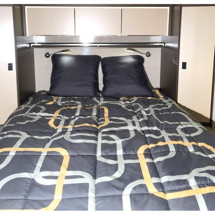 INCASA Lit pour Camping-car Rêves - 120/130 x 190 cm
