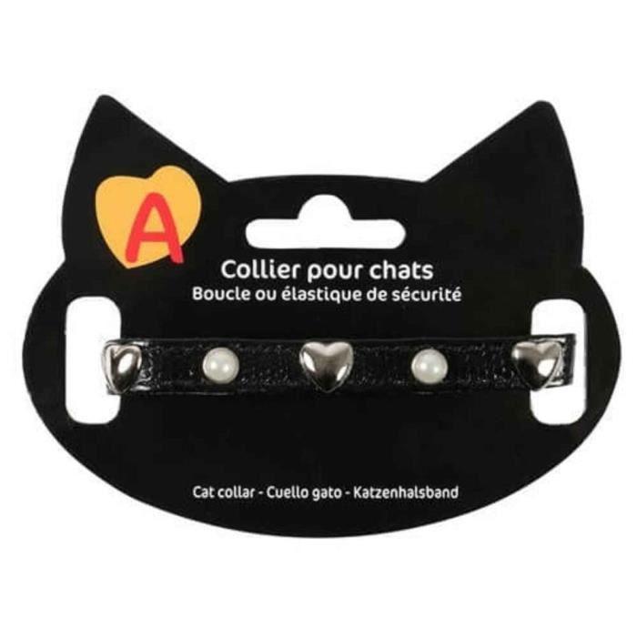 Collier Original Pour Chat - Animalis Noir