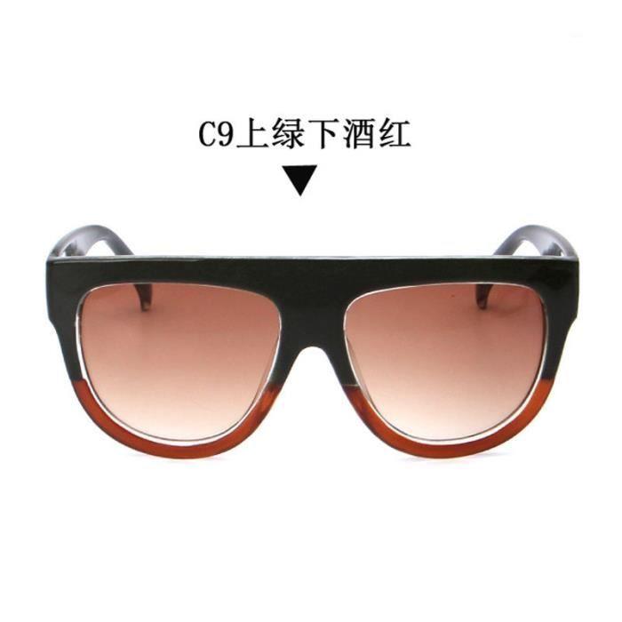 ebddf2be8c25fa Mme lunettes de soleil lunettes de soleil de rivet de tendance chat lunettes  de soleil oeil