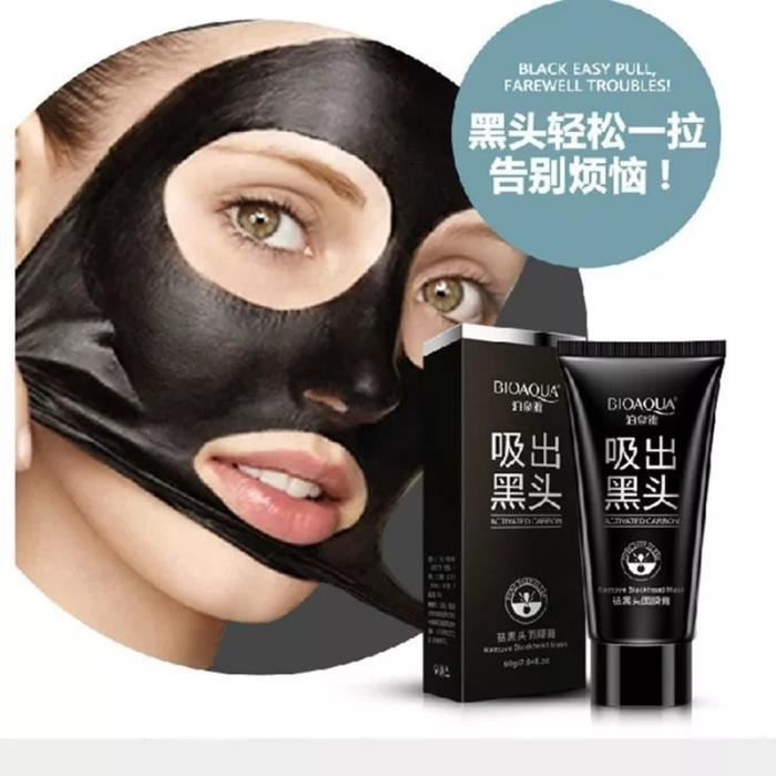 black mask shills masque anti point noir acne achat vente anti imperfections black mask. Black Bedroom Furniture Sets. Home Design Ideas