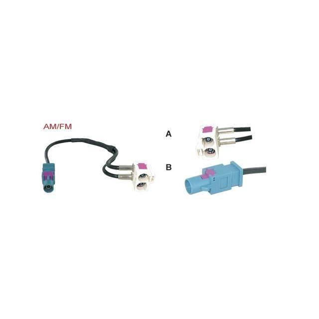 Adaptateur pour Antenne Fakra pour Audi / VW - …