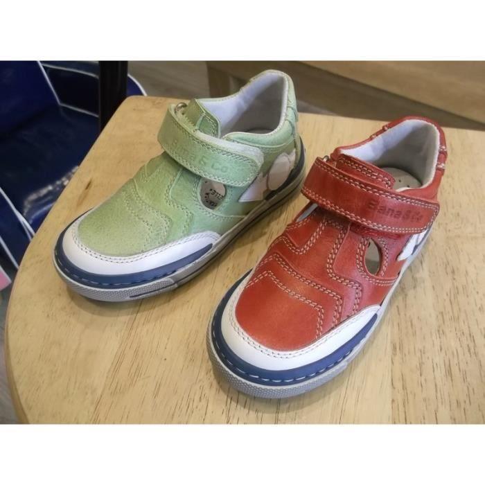 Chaussures enfants garçons mi-saison ajourée Bana