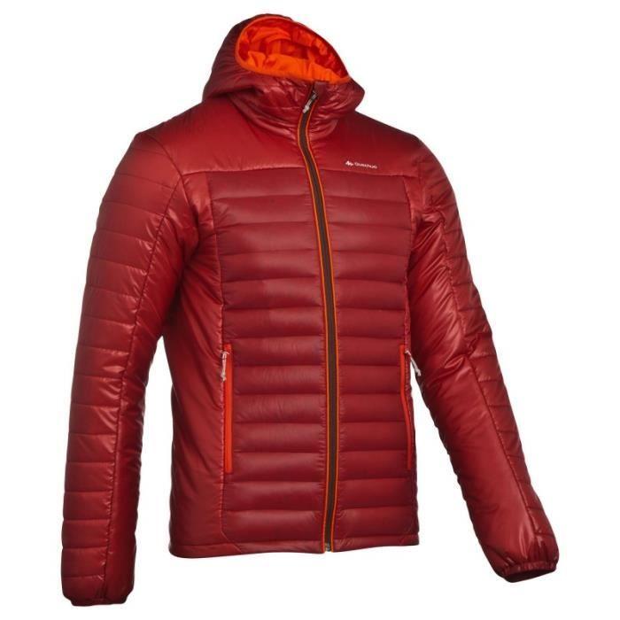 Veste quechua homme rouge