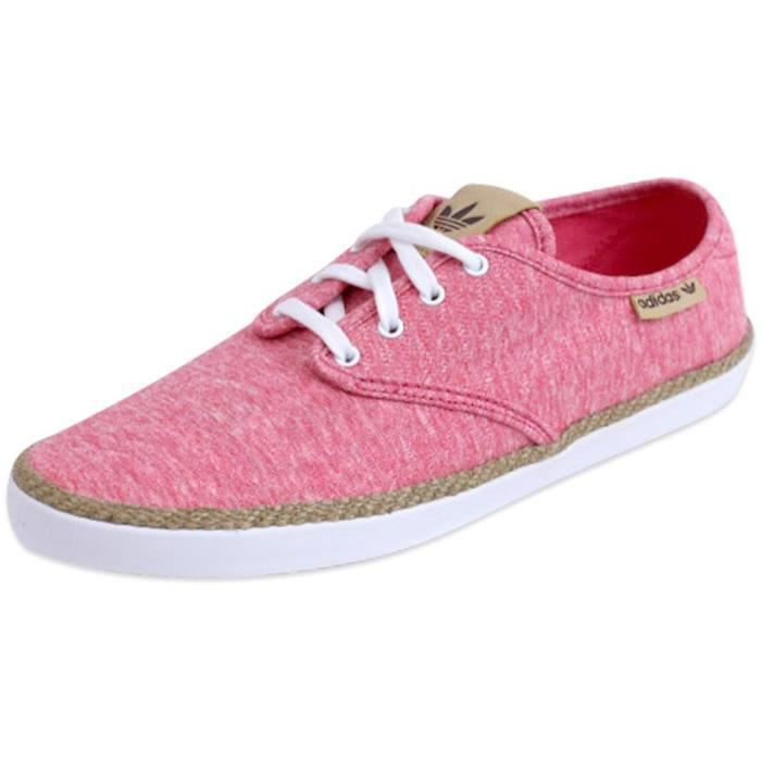 ADRIA PS W RSE - Chaussures Femme Adidas Rose Rose - Achat   Vente ... 372088bc6fd9