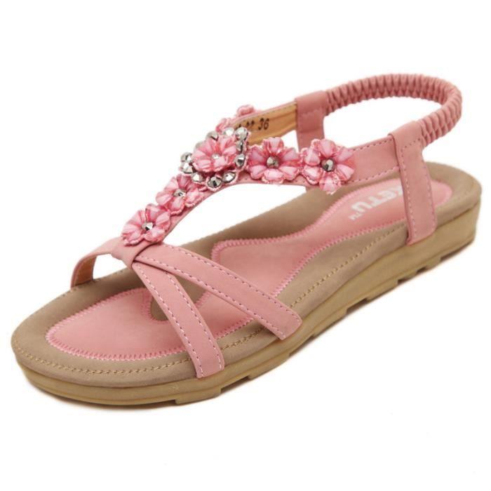 nouveau produit dernier style de 2019 Achat/Vente SIMPVALE Sandales Chaussures Femme