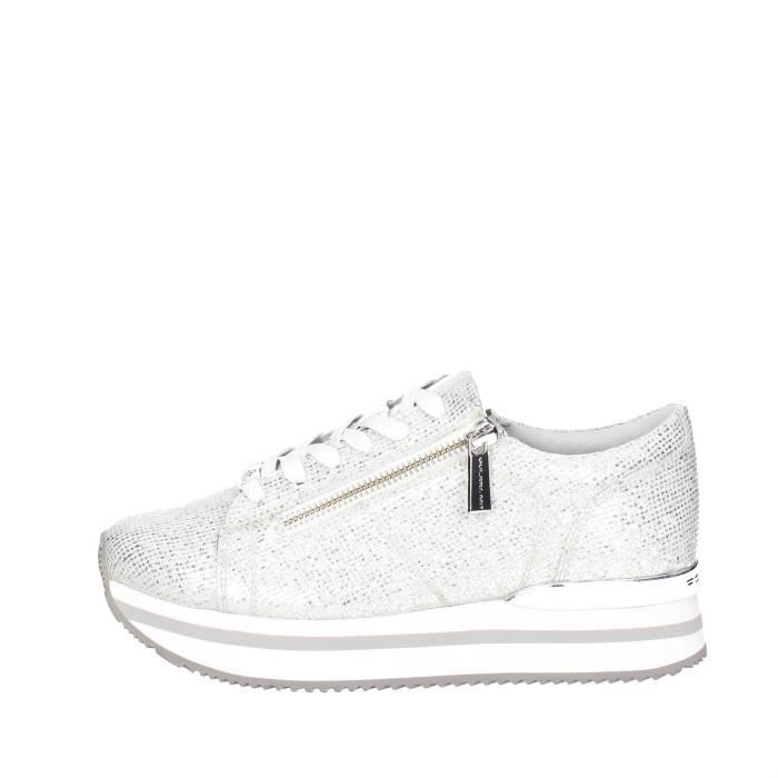 Fornarina Petite Sneakers Femme Argent , 38