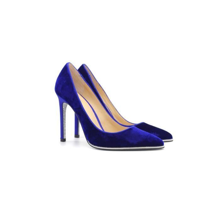 2017 pointe peu profonde bouche dames simples chaussures daim en soie semelles de mariage chaussures haut de gamme chaussures à ta