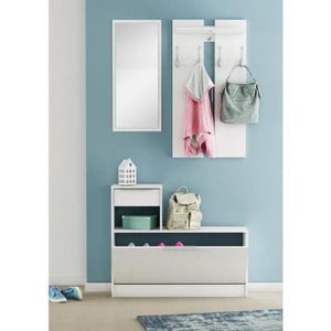vestiaire meuble d entree achat vente vestiaire meuble d entree pas cher soldes d s le 10. Black Bedroom Furniture Sets. Home Design Ideas