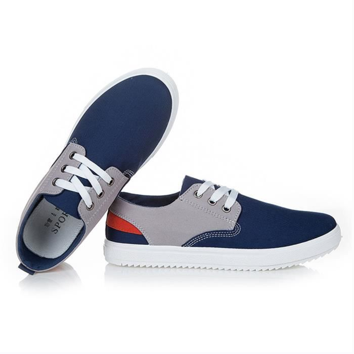 Chaussure Toile Sport Casual Homme Basket Contr...