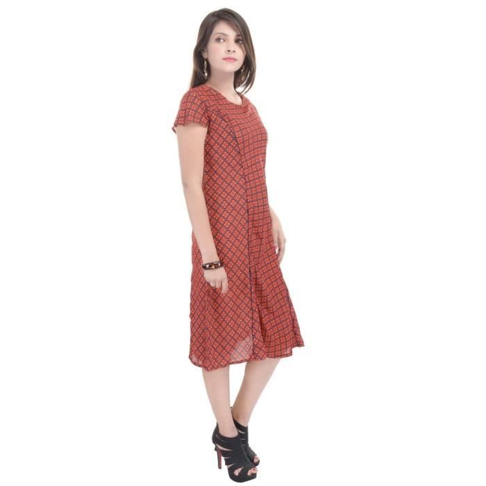 Goodwill Robe Vêtements de loisirs dames (multicolore) YWCYI Taille-34